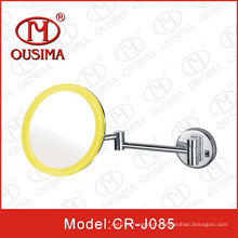 Espelho de parede montado móvel LED cosméticos usado no banheiro