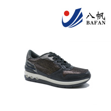 Mulheres moda casual tênis de corrida plana (bfj4207)