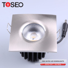 BS476 10W IP65 Fire rated recessed led ceiling down light fire proof recessed cob led downlight