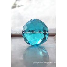 Aquamarine Kristallbeleuchtung Bälle