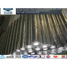 Aluminiumfolie Piping Korrosionsschutzklebeband