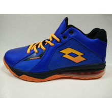 Men′s Dark Blue Outdoor Basketball Shoes Sports Footwear