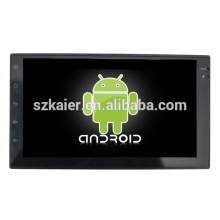7 pulgadas Deckless tocan completamente el estéreo universal del coche androide con GPS / Bluetooth / TV / 3G / WIFI