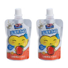 Spout Aluminum Plastic Yogurt Packaging Bag