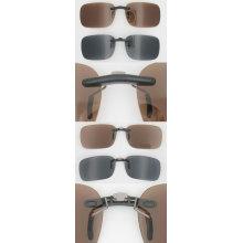 Классический дизайн Пластиковый материал Последние солнцезащитные очки Клип