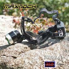 Led de alta potência Maxtoch HE6X-1 recarregável caça luzes da bicicleta