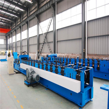 Semi-Automatic C Z Purlin Roll Forming Machine