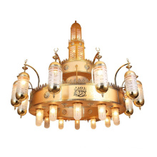 Mosque lighting big chandelier for church decoration  project light mosque lamp chandelier large pendant lamp
