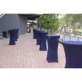 elegante Lycra Spandex Runde Cocktail Tischdecke für Hochzeit Großhandel Tischwäsche