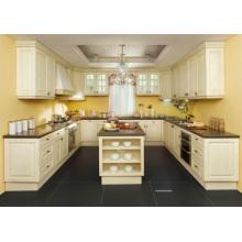 Cabinet de base personnalisé à la cuisine de Guangzhou