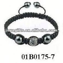Fashion square shamballa bracelet