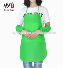 Custom logo printing kitchen cooking adult non woven aprons for promotions