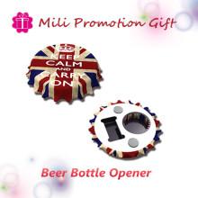 Custom High Quality Round Type Multifunctional Beer Drink Bottle Opener