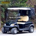 Carrinho de golfe elétrico 2 lugares Carrinho de jardim elétrico carrinho de patrulha de golfe com buggy