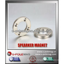 Sintered NdFeB Round Magnet With Holes