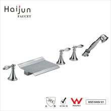 Haijun Wholesale Prices cUpc Deck Mounted Brass Bathroom Shower Faucets