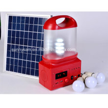6W wiederaufladbare Outdoor LED Solar Camping Laterne