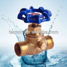 Copper Stop Valves with Male and GHT Connections 222-TM Lead free
