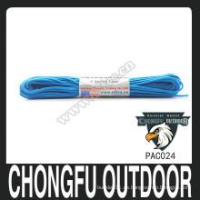 Paracord colorido de Dacron con insignia de encargo para la venta al por mayor