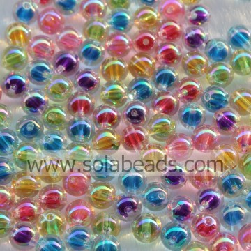 Ostern 12mm bunte Bubble Ball winzige Perlen