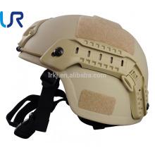 Capacete à prova de balas de NIJ IIIA Kevlar MICH / capacete balístico militar