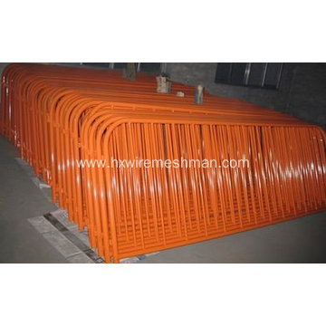 Pvc Coated Crowd Control Barriers