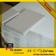 High Definition Sublimation aluminum sign blanks printing by printer Thickness: 0.45mm-0.65mm Color: white, silver, gold,