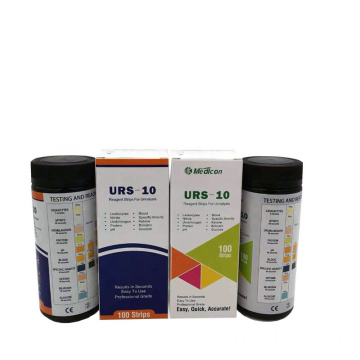 MDK Hot Sell Diabetic Test Tiras 10 Parámetro