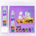 2021 Hot sale 2000 Puffs Blue razz e-cigarette