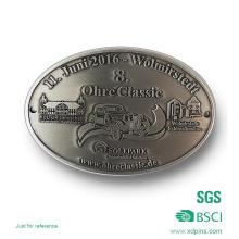 Customized Zink-Legierung Antik Silber Metall Gürtelschnalle für Geschenk (xd-08253)