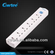 GT-6114 Многополюсная электрическая розетка 110 В