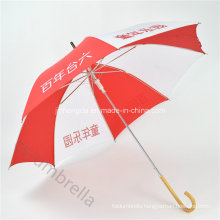 """Auto Open19"""" Logo Printed Promotion Straight Umbrella for Advertising (YSS0128)"""