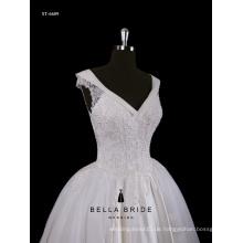 Hochzeitskleid erstklassige Guangzhou Hersteller High End nach Maß Vestido de Noiva Brautkleid Brautkleid