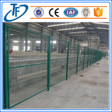 Square pole welded wire mesh