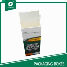Hot Sell Ivory Paper Board Verpackungsboxen mit Flip Inset Deckel