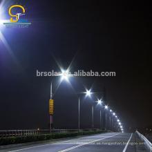 Diseño de alta seguridad integrada luz de calle al aire libre