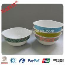 Tableware White Ceramic Oval Bowls/White Stoneware Pasta Bowls /Terracotta Bowl