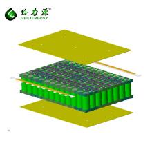 Recargable 8s12p 26650 batería de iones de litio paquete de batería de iones de litio 24v 40ah