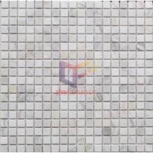 White Marble Stone Mosaic Tile (CFS922)
