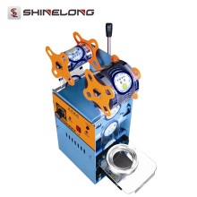 Heiße Verkaufs-Blasen-Tee-automatische Flaschen-Schalen-Vakuumversiegelungs-Maschine