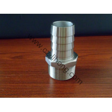"4"" Stainless Steel DIN2999 316 Hose Nipple"