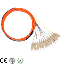 Alta calidad mm SC / PC 12c fibra óptica coleta