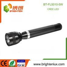 Chine Wholesale Usage d'urgence Batterie rechargeable en taille 3D Longue durée Powered 5W Aluminium Cree XPG Army Torch Light