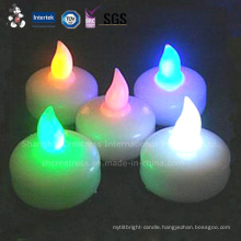 LED Feature and Floating Type Floating Candle