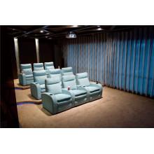 Canapé de salon avec canapé moderne en cuir véritable (796)