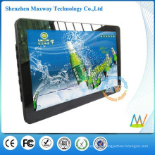 Distribuidores digitais da foto do quadro do LCD do espelho do preto de 15 polegadas