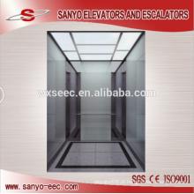 Espelho St / St esmaltado vidro passageiro elevador elevador