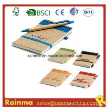 Papier-Notizbuch mit preiswertem Preis