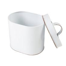 Petite boîte ronde pour l'emballage du thé