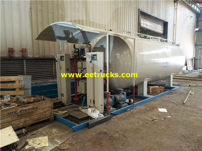 LPG Skid-mounted Filling Plant